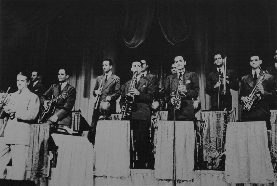 Bunny Berigan and his orchestra. Robert Asen-Metronome Collection.